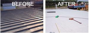 Foran's Roofing Metal Roof Retrofit